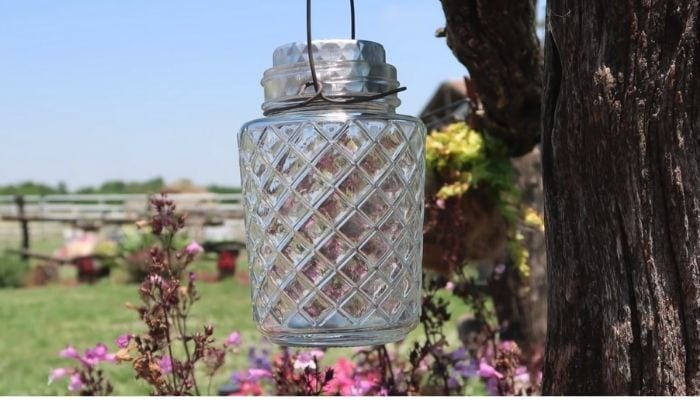 image of a DIY Solar Lantern